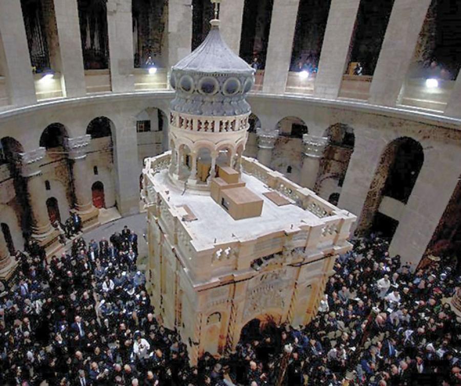 Священников ПЦУ не допустили к службе в храме Гроба Господня в Иерусалиме